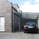 terrassenüberdachung als carport